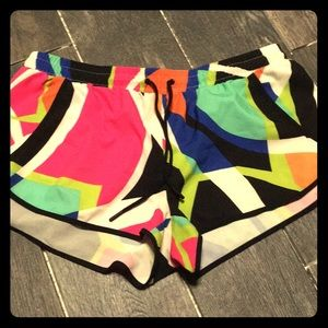 Fabletics multi color shorts size L